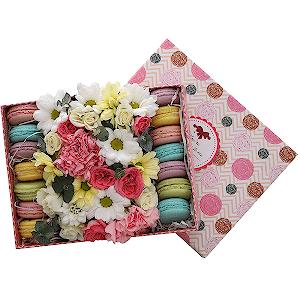 Цветы в коробке Наслаждение
