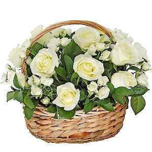 "Корзина цветов Композиция ""Мэрилин Монро"""